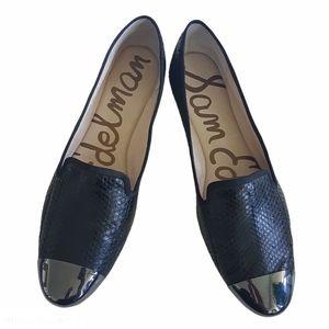 Sam Edelman Leather Aster Metal Toe Shoe Size 9